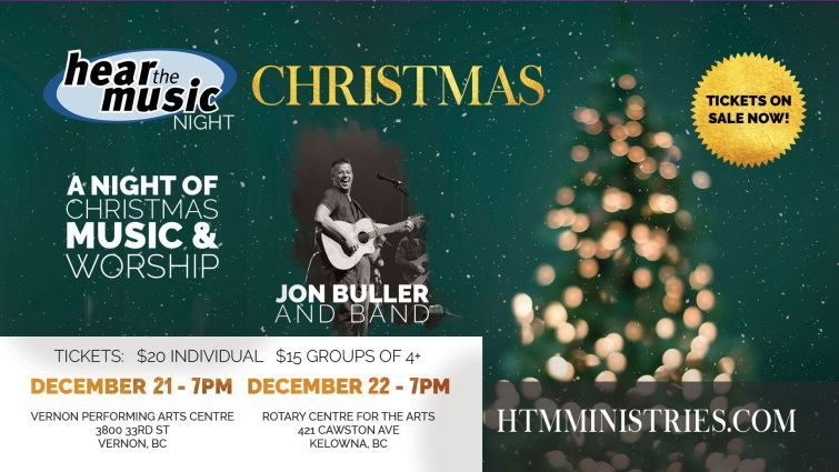 Hear the Music Night: Christmas in Vernon