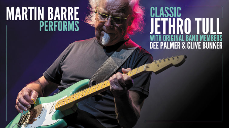 Martin Barre Performs Classic JethroTull